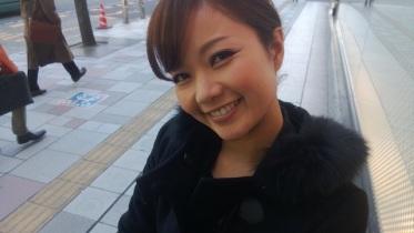 名古屋付近でバッタリなおちゃん。