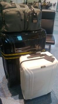 帰りスーツケース一個増えた。